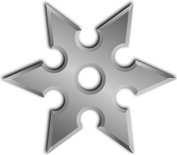 Shuriken clipart #11, Download drawings