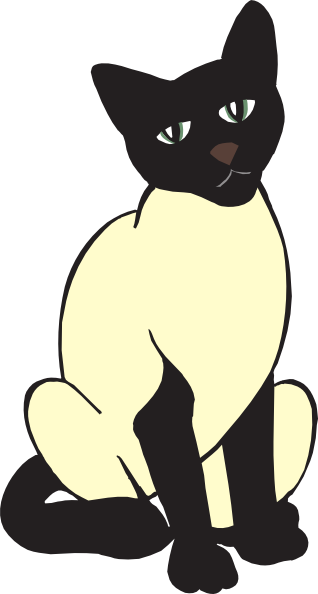 Siamese Cat svg #1, Download drawings
