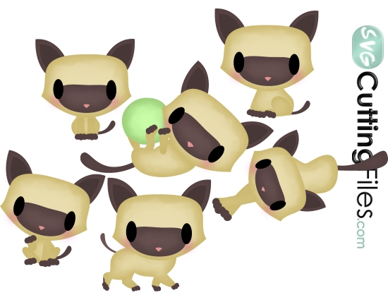 Siamese Cat svg #9, Download drawings