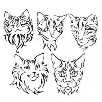 Siamese Cat svg #16, Download drawings