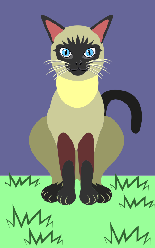 Siamese Cat svg #13, Download drawings