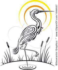 Siberian Crane clipart #8, Download drawings
