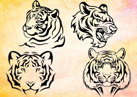 Siberian Tiger svg #10, Download drawings