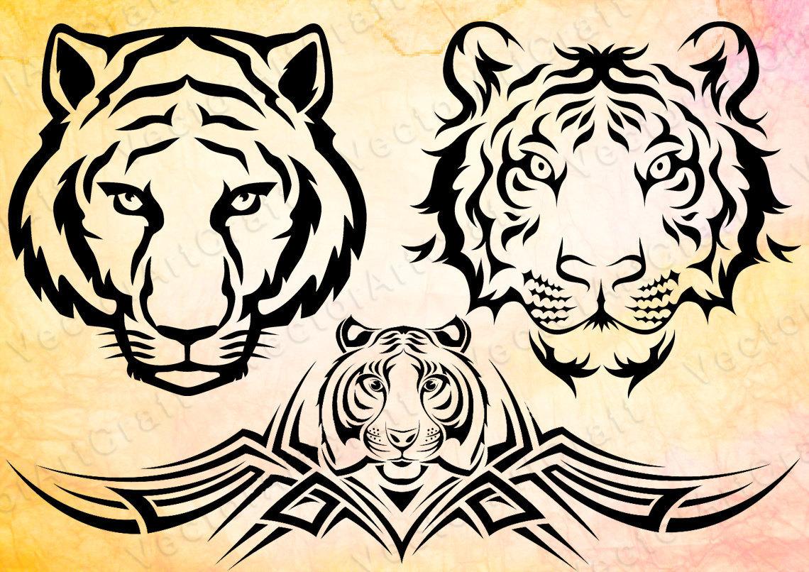 Siberian Tiger svg #8, Download drawings