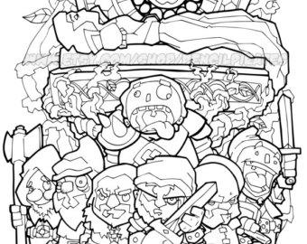 Siege coloring #4, Download drawings