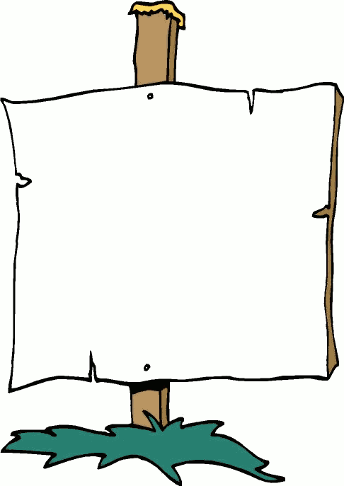 Sign clipart #2, Download drawings