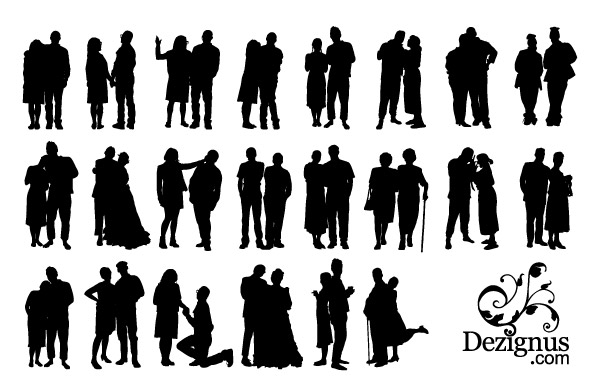 Silhouette clipart #1, Download drawings