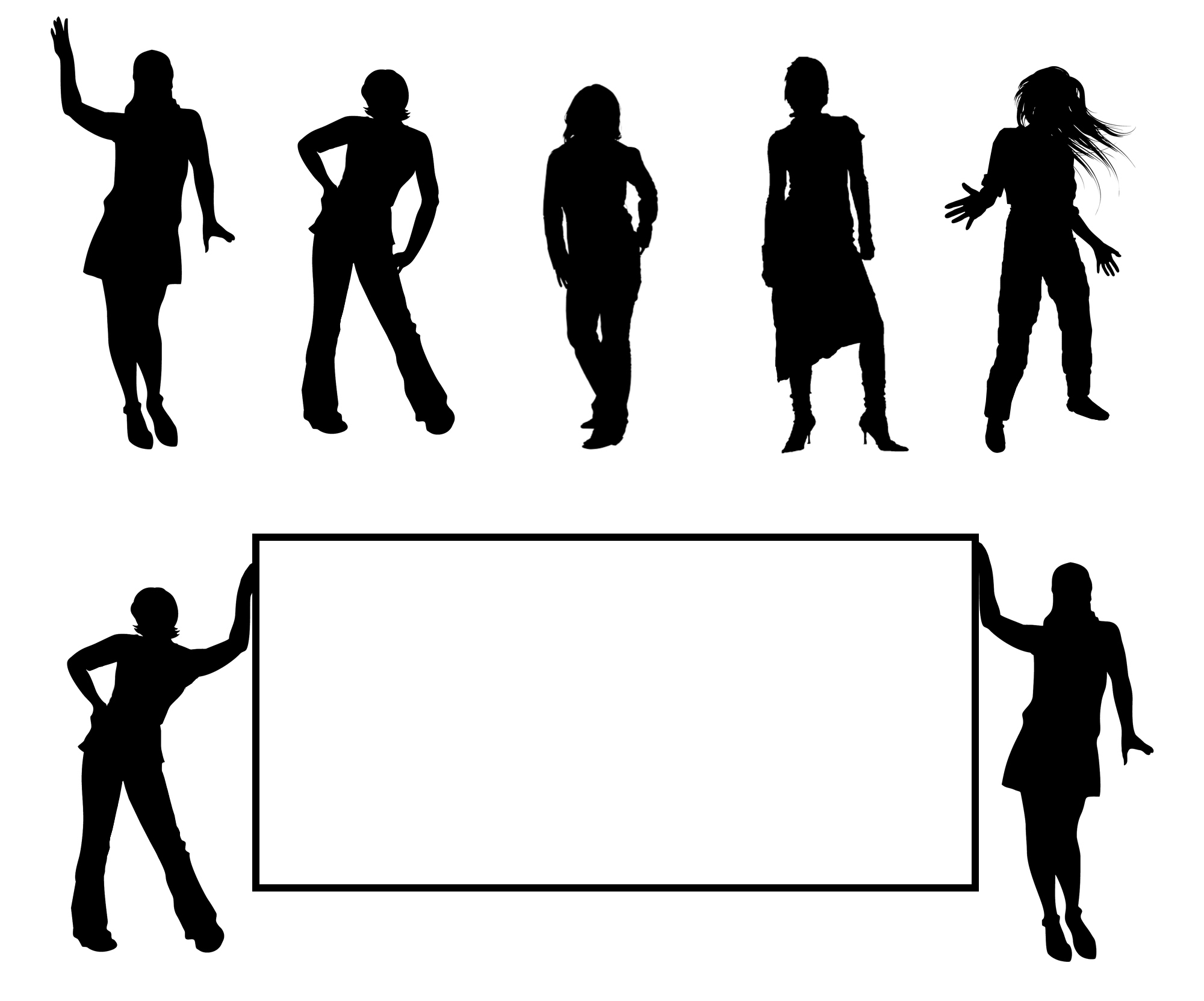 Silhouette clipart #12, Download drawings
