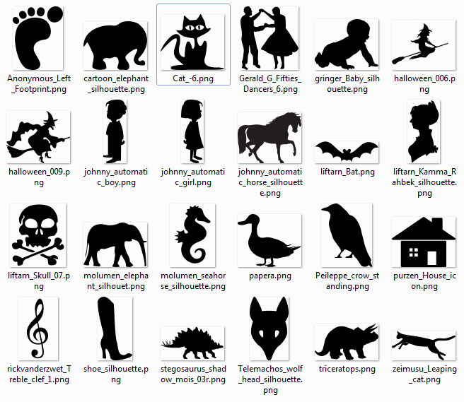 Silhouette svg #14, Download drawings