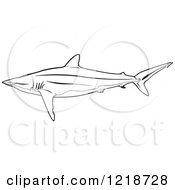 Silky Shark clipart #14, Download drawings