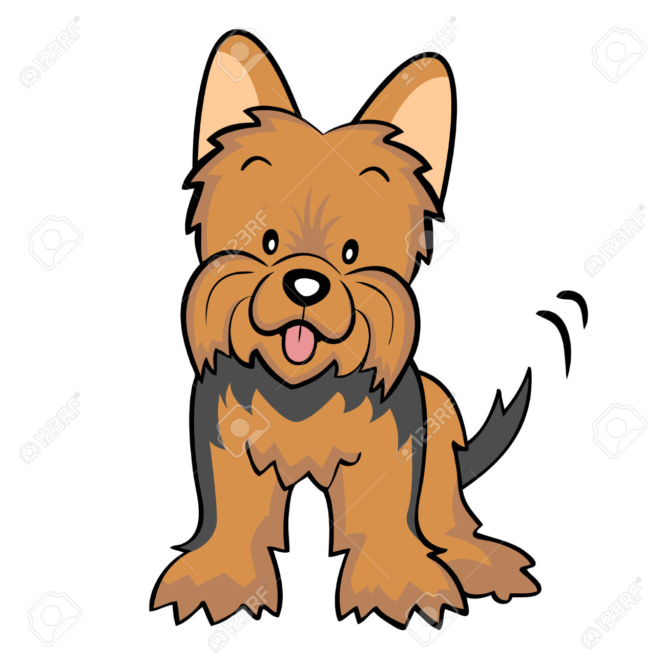 Terrier clipart #17, Download drawings