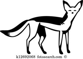 Silver Fox clipart #4, Download drawings