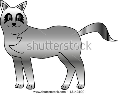 Silver Fox clipart #17, Download drawings