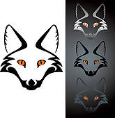 Silver Fox clipart #3, Download drawings