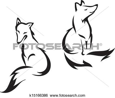 Silver Fox clipart #7, Download drawings