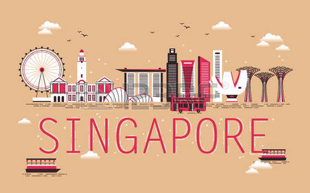 Singapore clipart #4, Download drawings