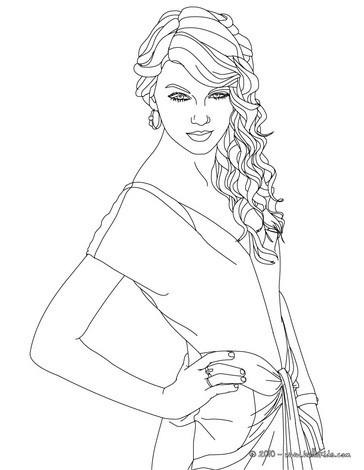 Singer coloring #6, Download drawings