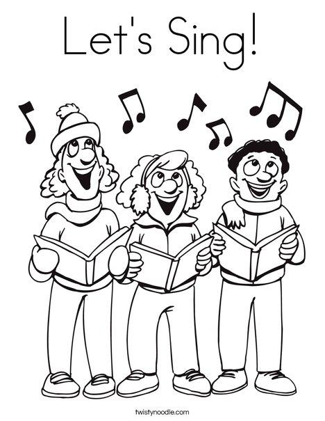 Singer coloring #7, Download drawings
