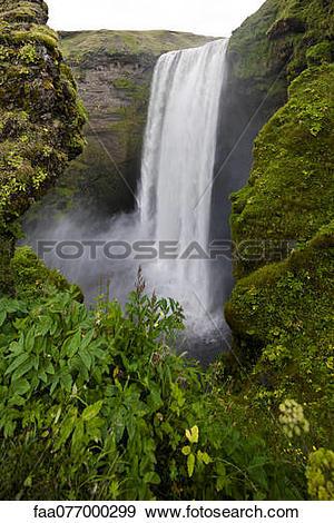 Skogafoss Waterfall clipart #16, Download drawings