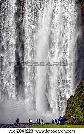 Skogafoss Waterfall clipart #18, Download drawings