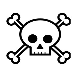 Skull clipart #1, Download drawings