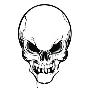 Skull clipart #9, Download drawings