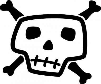 Skull clipart #5, Download drawings