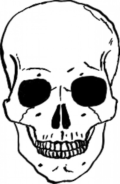 Skull clipart #3, Download drawings