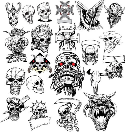 Skull svg #10, Download drawings