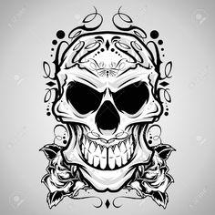 Skull svg #6, Download drawings
