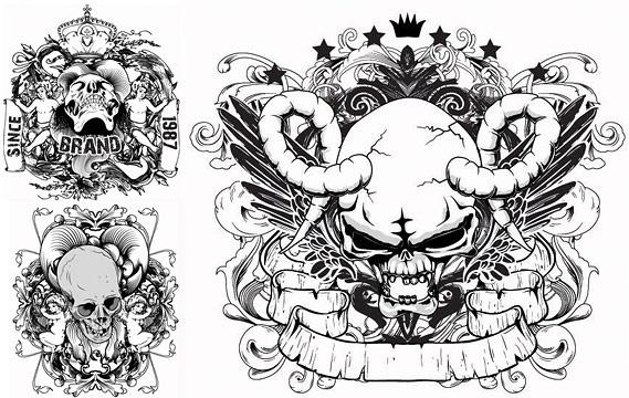 Skull svg #8, Download drawings