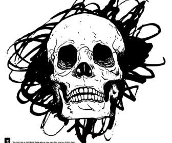 Skull svg #7, Download drawings