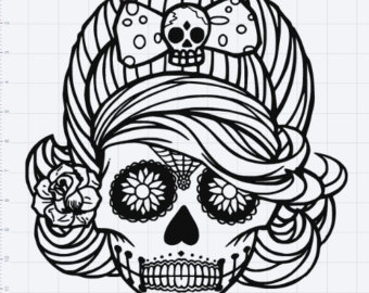 Skull svg #9, Download drawings