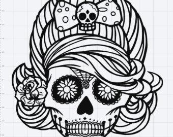Skull svg #9, Download drawings