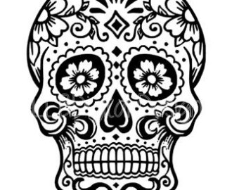 Skull svg #2, Download drawings