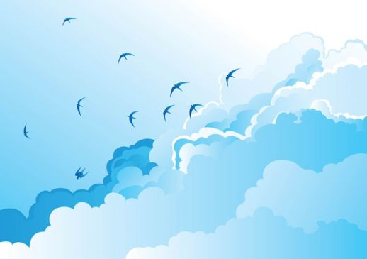 Blue Skies svg #20, Download drawings