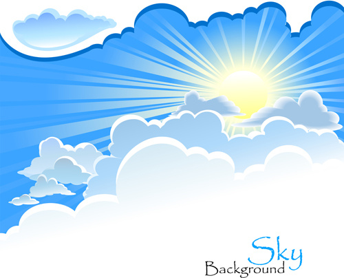 Blue Skies svg #19, Download drawings