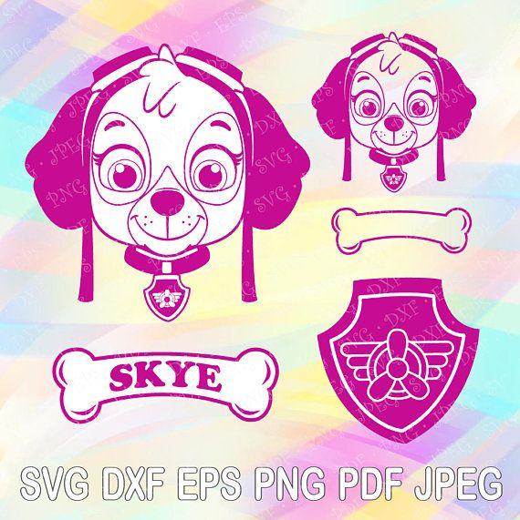 skye paw patrol svg #978, Download drawings