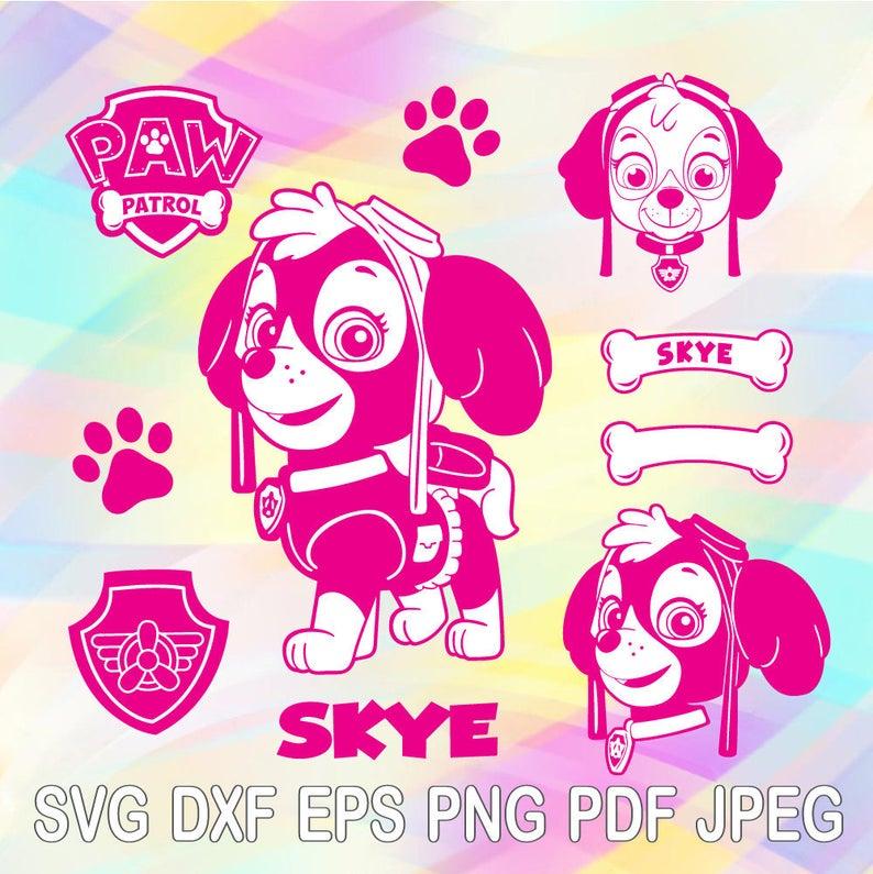 skye paw patrol svg #977, Download drawings