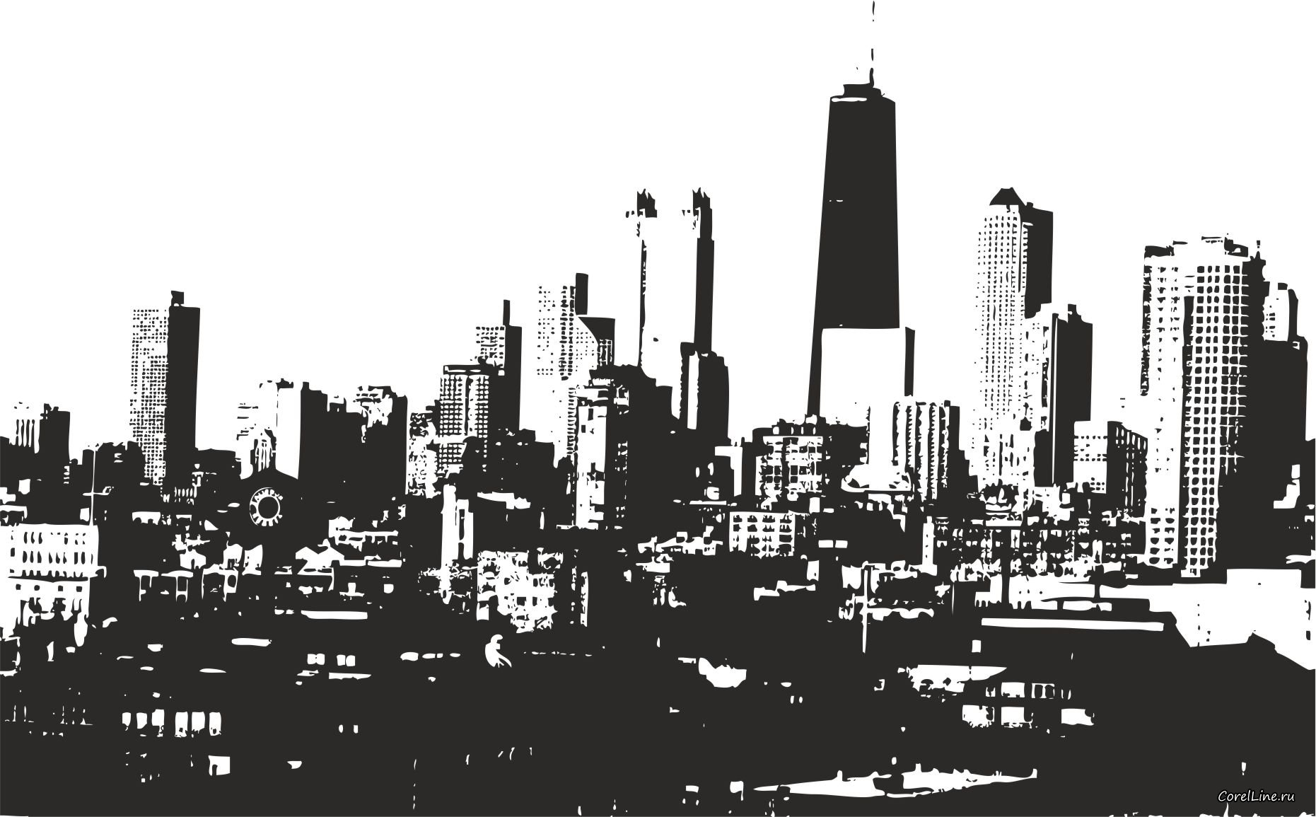 Skyline clipart #6, Download drawings