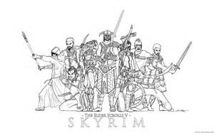 Skyrim coloring #18, Download drawings