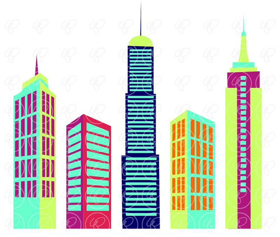 Skyscraper clipart #1, Download drawings