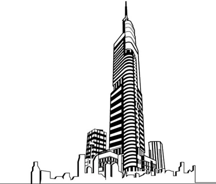 Skyscraper clipart #14, Download drawings