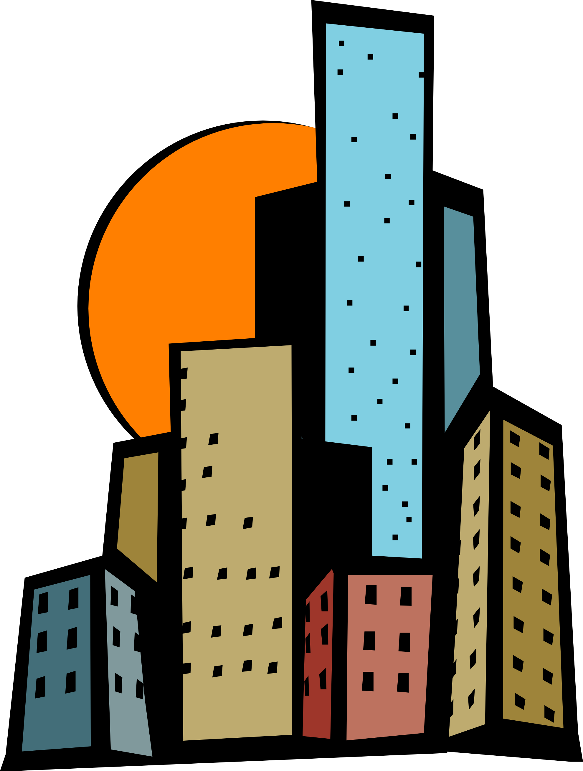 Skyscraper clipart #15, Download drawings