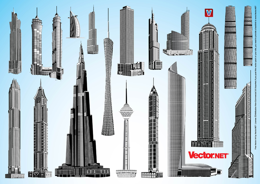 Skyscraper svg #14, Download drawings