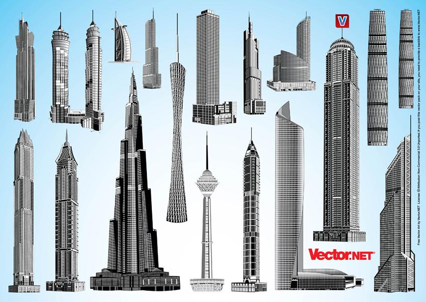 Skyscraper svg #14, Download drawings