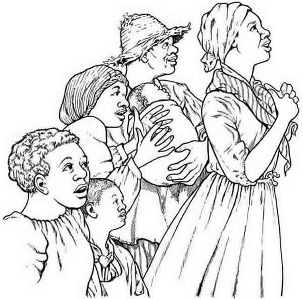 Slave coloring #19, Download drawings