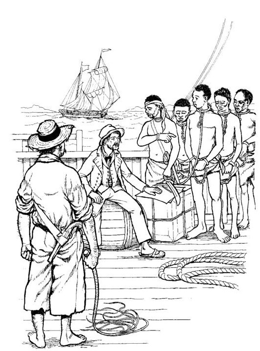 Slave coloring #8, Download drawings