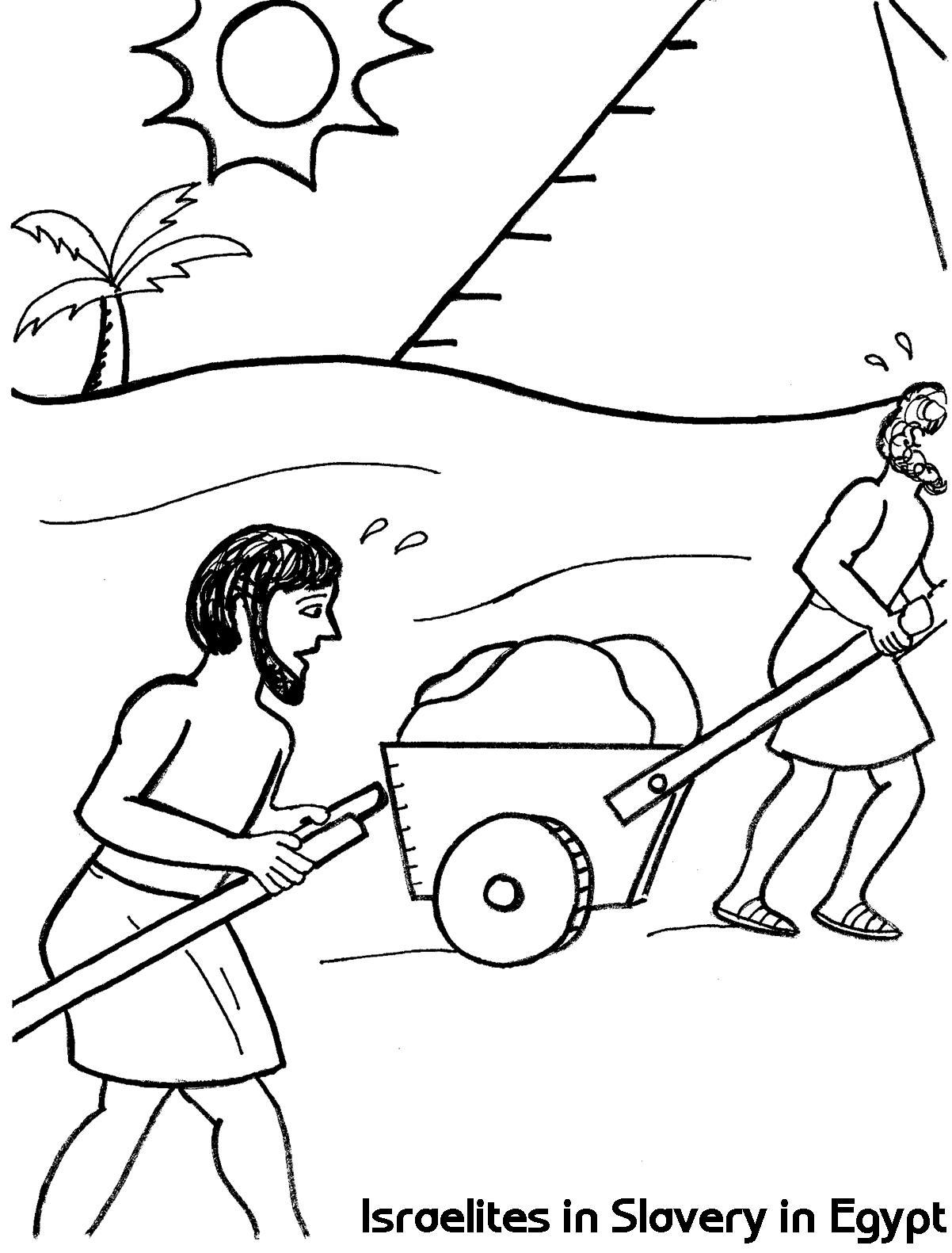 Slave coloring #10, Download drawings
