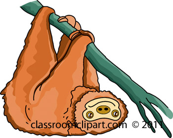 Sloth clipart #17, Download drawings